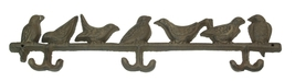 Victorian Cast Iron Birds Hook - $12.00