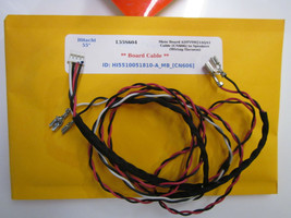 "Hitachi 55"" L55S604 Main Board CBPFTQACBZK041 Cable [CN606] to Speakers  - $12.00"