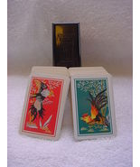 KEM plastic playing cards USA roosters two decks @1925 replacement cards - $20.00