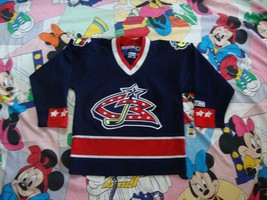 Columbus Blue Jackets Jersey Sz Youth S / M NHL Hockey - $21.77