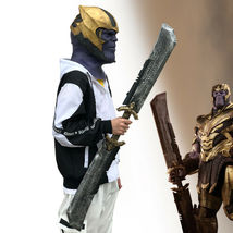 2019 Endgame Thanos DOUBLE-EDGED SWORD Cosplay Costume Prop Weapon Avengers - $44.63+