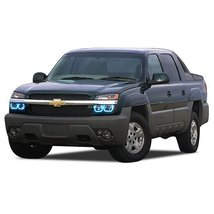 FLASHTECH for Chevrolet Avalanche 03-06 Blue Single Color LED Halo Ring ... - $185.22