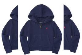 Ralph Lauren Childrenswear Girls'  Fleece Hoodie , Size 6, - $29.69