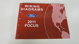 2011 Ford Focus Electrical Wiring Diagrams Service Shop Repair Manual   ... - $21.59