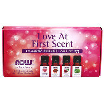 NOW Solutions Love at First Scent Romantic Essential Oils Kit - 4 Bottles - $17.55
