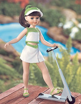 "16"" SALLY & HER real WORKING ROLLING SCOOTER MIB - $22.30"