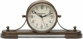 Timelink 33657 Crosley Alarm Clock for Desk and Mantel, Nautical Style, All - $49.99
