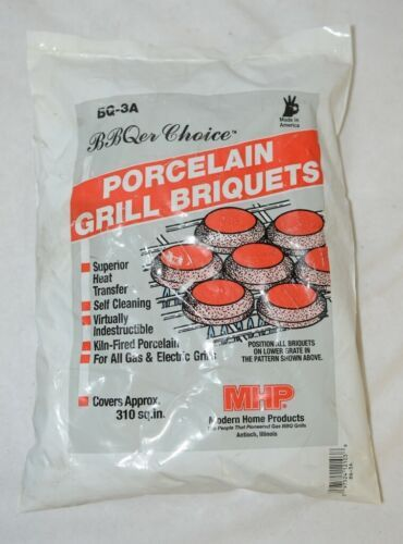 BBQer Choice BQ3A Porcelain Grill Briquets Gas And Electric Grills