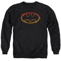Batman - Flame Outlined Logo Adult Crewneck Sweatshirt Officially Licens... - $29.99+