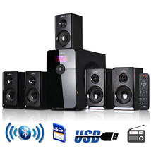 An item in the Everything Else category: beFree Sound 5.1 Channel Surround Sound Bluetooth Speaker System in Black