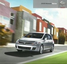 2009 Nissan VERSA sales brochure catalog US 09 1.6 1.8 S SL - $6.00