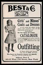 Liliputian Bazaar AD 1902 Clothes Catalogue Best & Co - $14.99