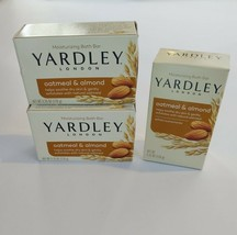 Yardley London Moisturizing Bar Soap (3 Bars) Oatmeal & Almond - $9.74