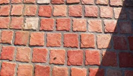 """12 Paver Molds Make 100s of 6x6x1.5"""" Castle Cobble Stones for Pennies. FAST SHIP image 2"""
