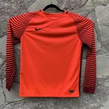 Nike Gardien Goalkeepers Jersey Bright Crimson/Deep Garnet Men's L Long ... - $22.22