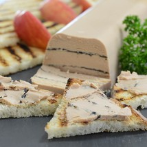 Mille-Feuille of Duck Foie Gras with Truffles, Micuit - 1 terrine - 17.5 oz - $138.60