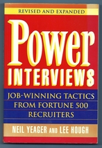 Power Interviews Job Winning Tactics Fortune 50... - $3.00