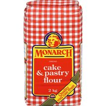 Monarch Enriched Cake & Pastry Flour 2 x 2kg bags Canada - $79.99
