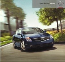 2009 Nissan ALTIMA sales brochure catalog US 09 Sedan Coupe S SL SE - $6.00