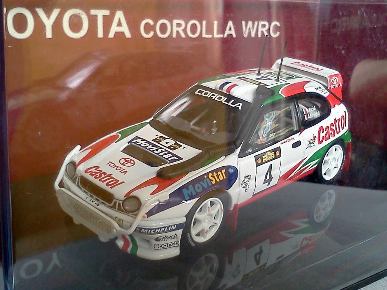 Toyota corolla wrc  4.1
