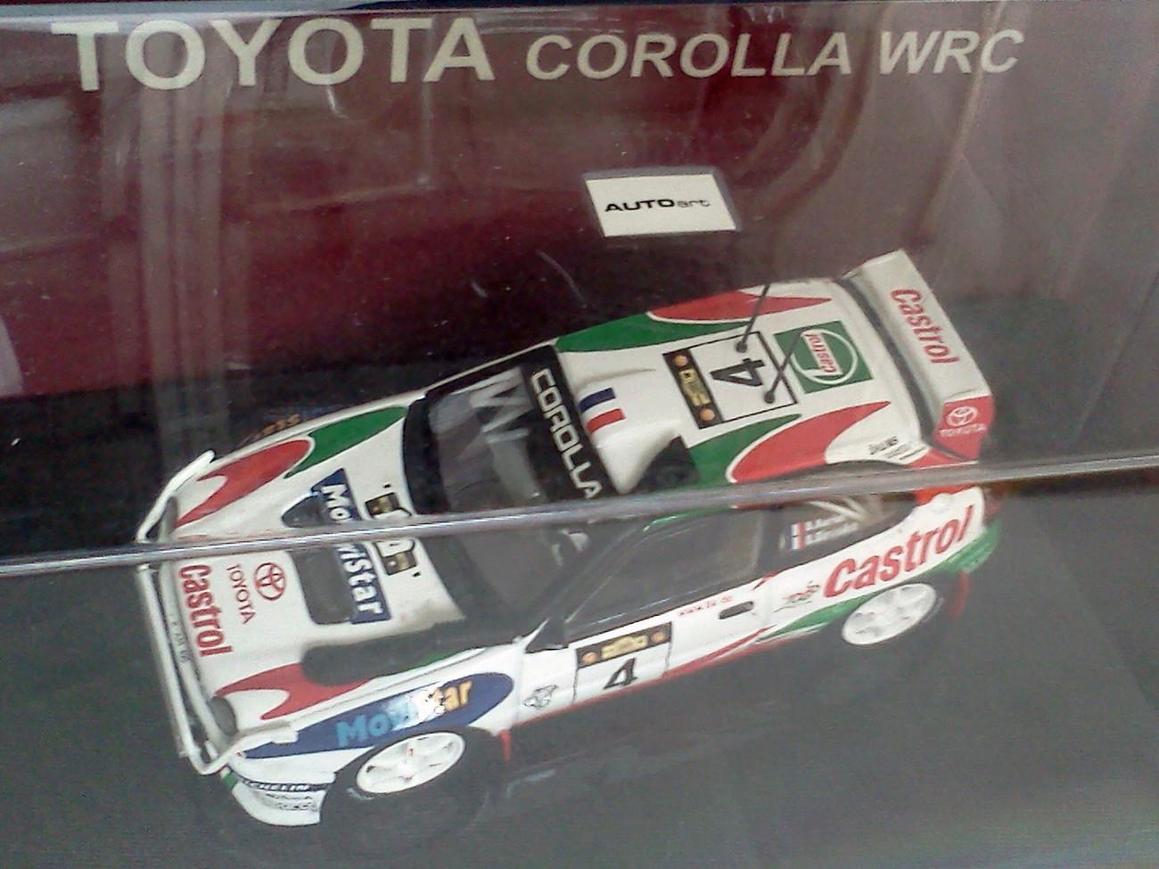 Toyota Corolla WRC #4 Safari Rally Dider Auriol 1999 1/43 Die Cast Model Car