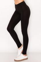 VitaleUSA Women's Cotton Booty Leggings, Comfortable & Stretch Yoga Legg... - $16.95