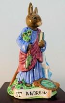 "Royal Doulton Bunnykins Figurine - ""St. Andrew"" DB399 - $47.49"