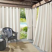 "Sun Zero Valencia Grommet Curtain Panel 54"" x 108"" Khaki - $15.02"