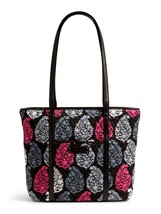 Vera Bradley Signature Cotton Small Trimmed Vera Tote Bag, Northern Lights