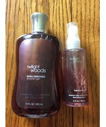 Twilight Woods 10 oz shower gel 3 oz fragrance mist Bath and Body Works  - $39.98