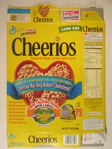 MT General Mills Cereal Box CHEERIOS 1998 15oz A BUG'S LIFE Ant Maze [G7... - $11.52