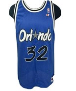 Vintage Champion Jersey Orlando Magic Shaq Shaquille O'Neal #32 90s NBA 48 - $59.99