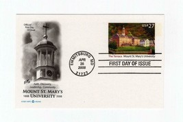 FDC POSTCARD- THE TERRACE-MOUNT SAINT MARY UNIVERSITY-2008 ART CRAFT CAC... - $1.23