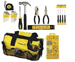 38 pcs Mixed Tool For Home Repair Set With Soft Case Quality Hand Tools NEW - $36.64