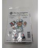 NMI Pin Pal Ornament Needlepoint Kit Christmas Holiday Baker 5610 - $11.75