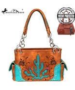 Montana West Cut-out Cactus & Embroidered Floral Concealed Carry Satchel... - $61.99