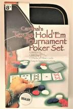 Cardinal's Texas Hold 'Em Tournament Poker Set w/ Travel Case - $7.91