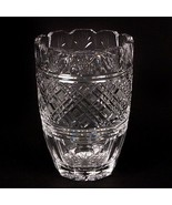 """Waterford Crystal 8"""" Vase Beautiful Design, Fluted Edge, Great Condition - $178.20"""