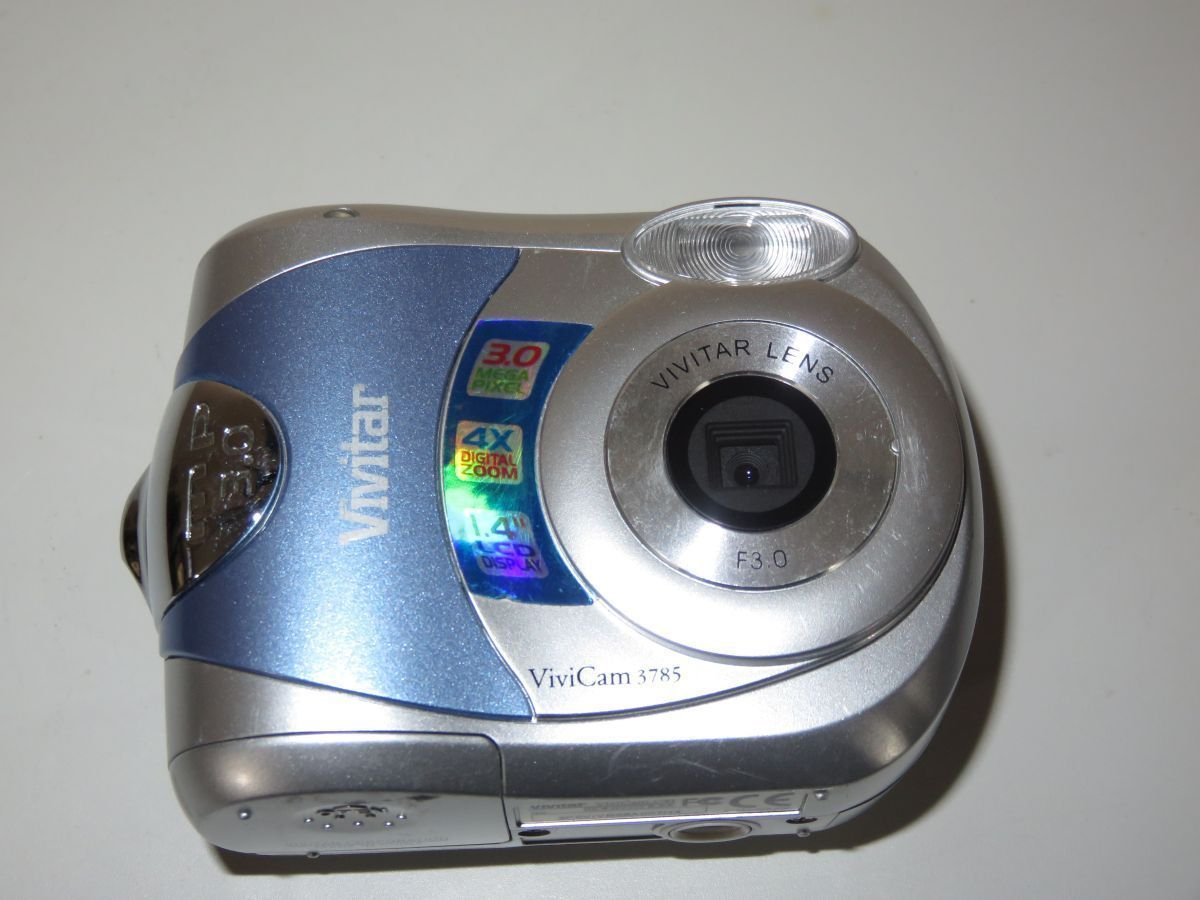 vivitar vivicam 3785 3 0mp digital camera and similar items rh bonanza com