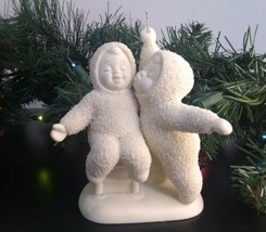 """Kiss Me"" Snowbabies Department 56 - The Gift of Christmas 56.69133 No B... - $9.75"