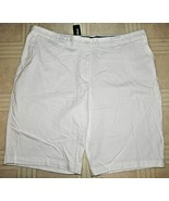 "L.L.BEAN WOMEN'S SEAPORT SHORTS~Sz 20 WHITE~23"" L.19.5""W.~98%COT. 2%LYCR... - $19.75"