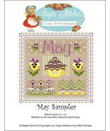 May Monthly Sampler 2017 series cross stitch ch... - $10.00