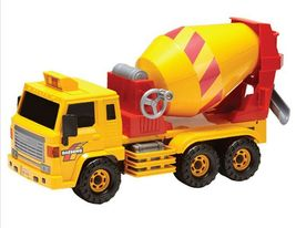 Daesung Toys Dump Truck and Concrete Mixer Car Vehicle Construction Toy 2 Counts image 7