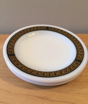 Pair of vintage 70s Pyrex Ebony pattern Bread Plates image 5