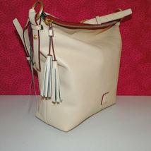 Dooney & Bourke Florentine Small Dixon Shoulder/ Crossbody Bag NWT Bone image 9