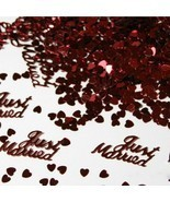 Scatters Confetti Gold Silver Just Married Design For DIY Party Wedding ... - €7,11 EUR