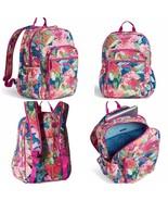 Vera Bradley Iconic Campus Backpack Women's Bag in Superbloom - $79.00