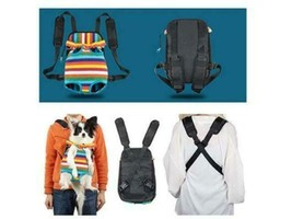 Colorful Pet Carrier Backpack - Perfect for Your Puppy! image 2