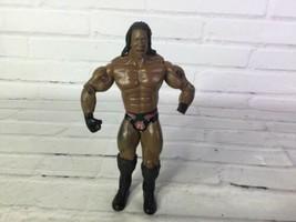 2003 Jakks Pacific WWE Classic Superstar Booker T Wrestling Loose Action... - $10.29