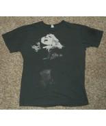 Madonna Adhésif & Sucré Tour 2008 Gris Femmes Concert Tee Chemise Haut - $26.77